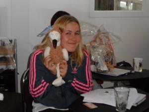 Annie på STIs kursstart den 6 oktober!